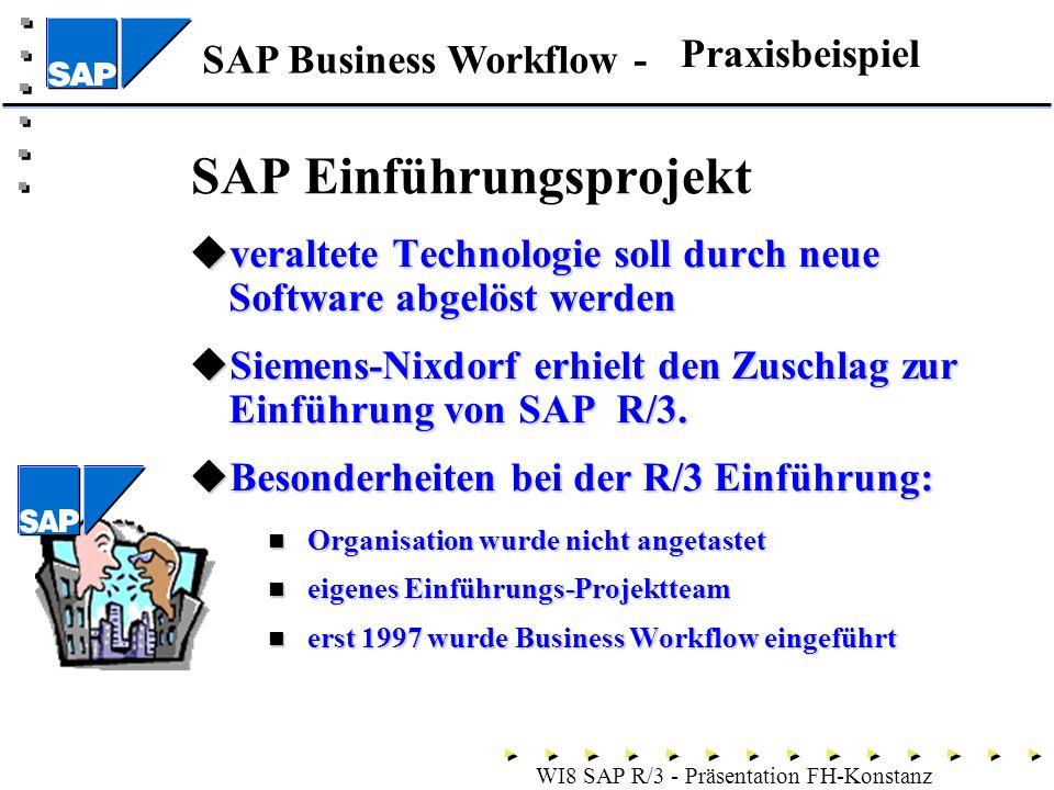 SAP Einführungsprojekt