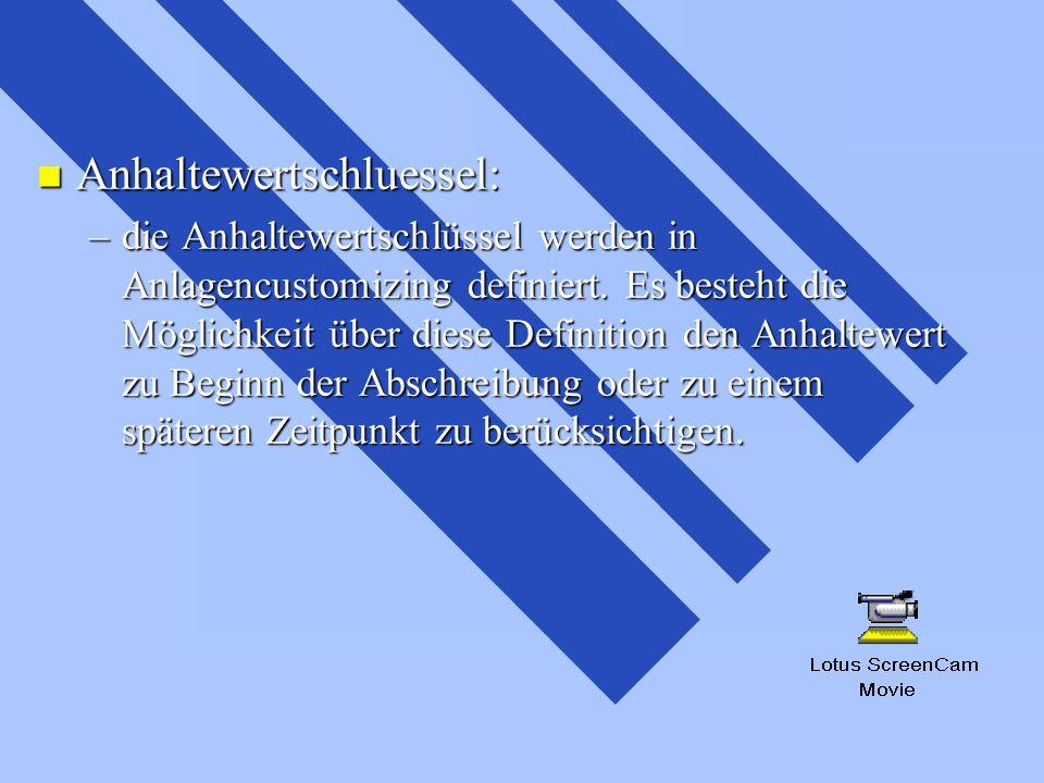 Anhaltewertschluessel: