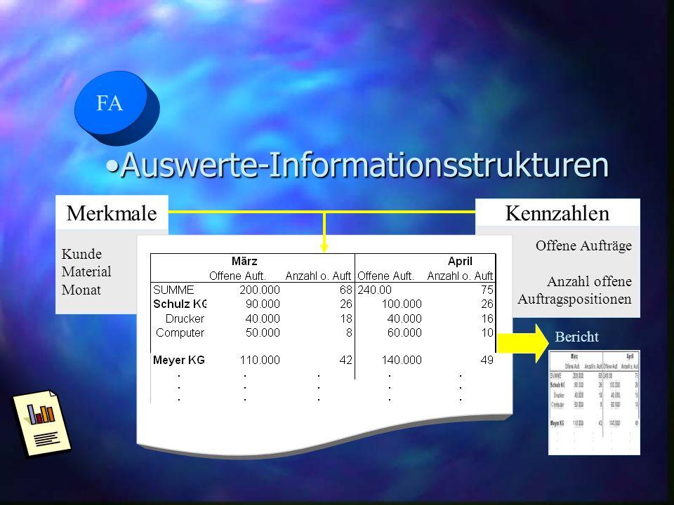 Auswerte-Informationsstrukturen