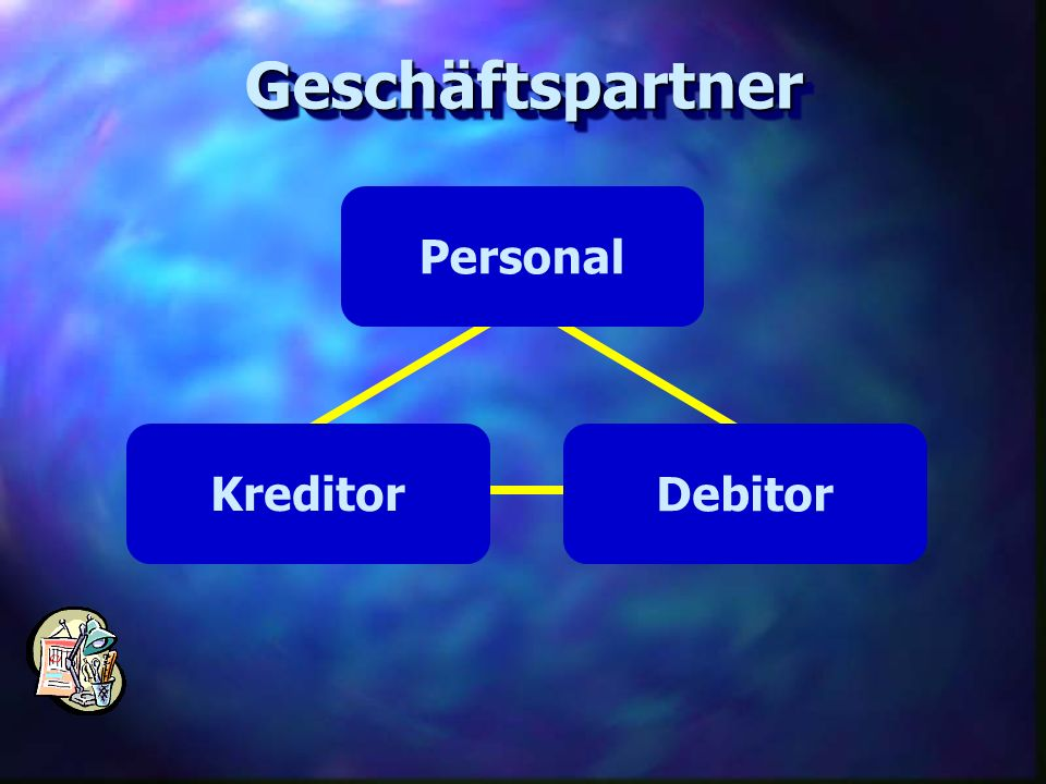 Geschäftspartner Personal Kreditor Debitor