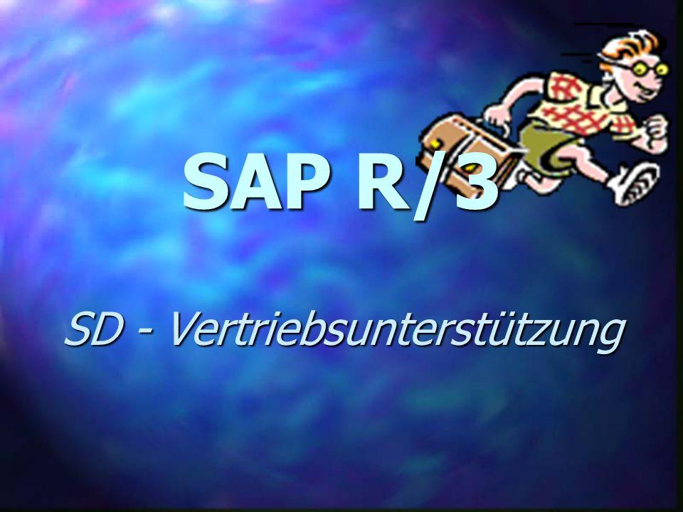 SD - Vertriebsunterstützung