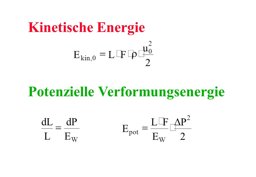 Potenzielle Verformungsenergie