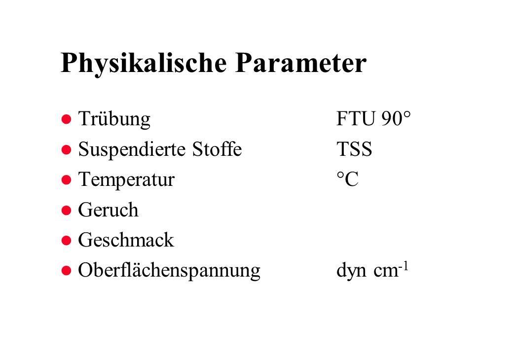 Physikalische Parameter