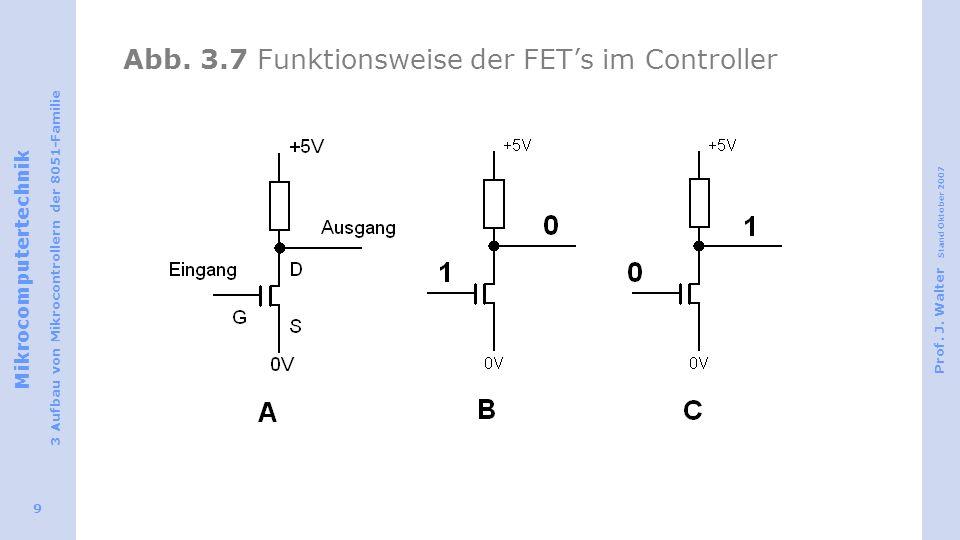 Abb. 3.7 Funktionsweise der FET's im Controller