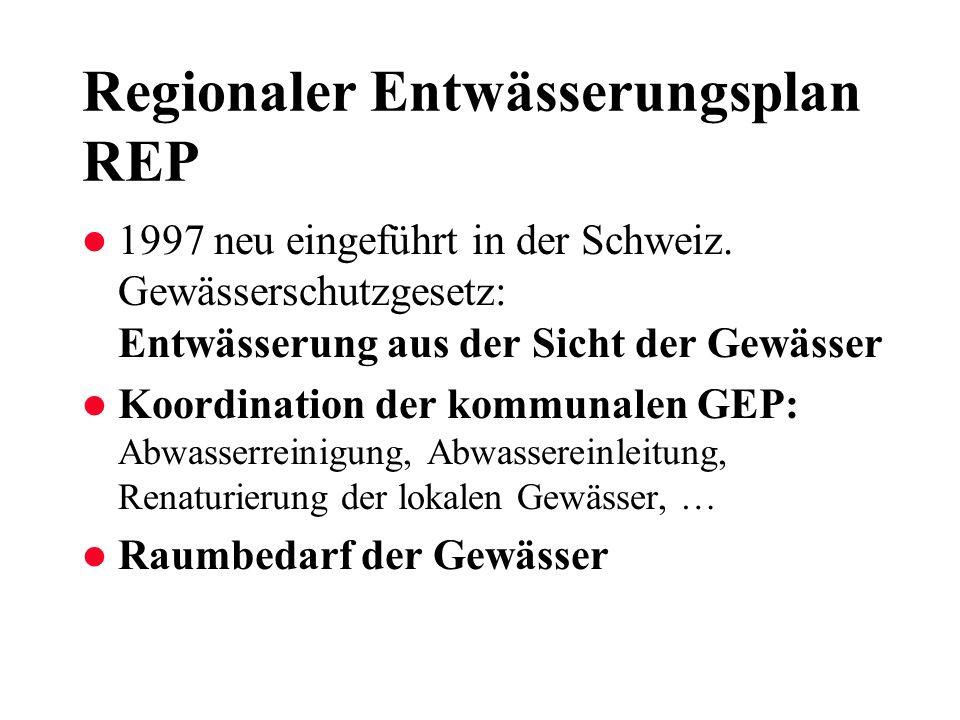 Regionaler Entwässerungsplan REP