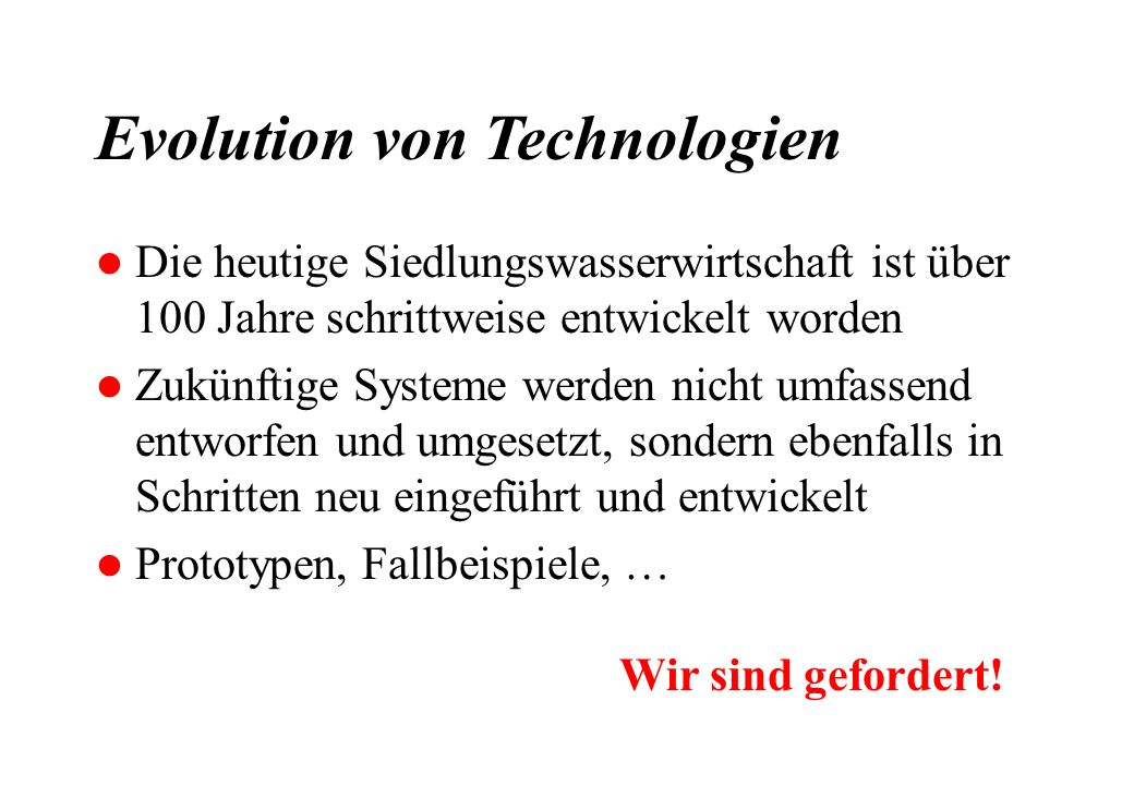 Evolution von Technologien