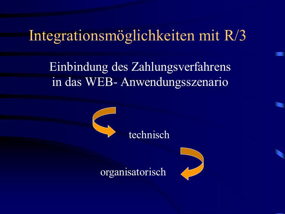 Integrationsmöglichkeiten mit R/3