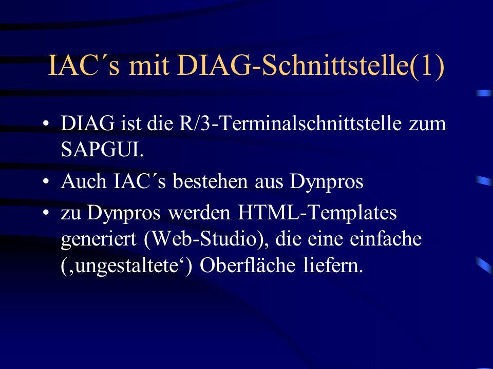 IAC´s mit DIAG-Schnittstelle(1)