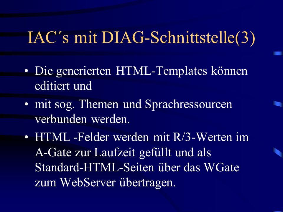 IAC´s mit DIAG-Schnittstelle(3)