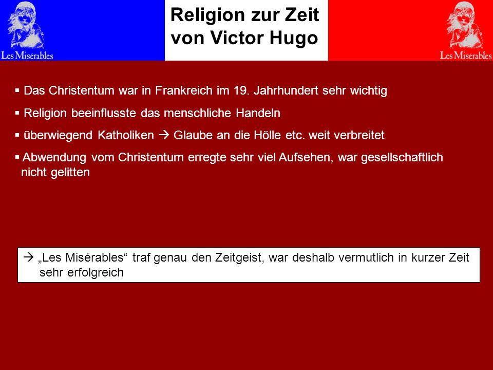Religion zur Zeit von Victor Hugo