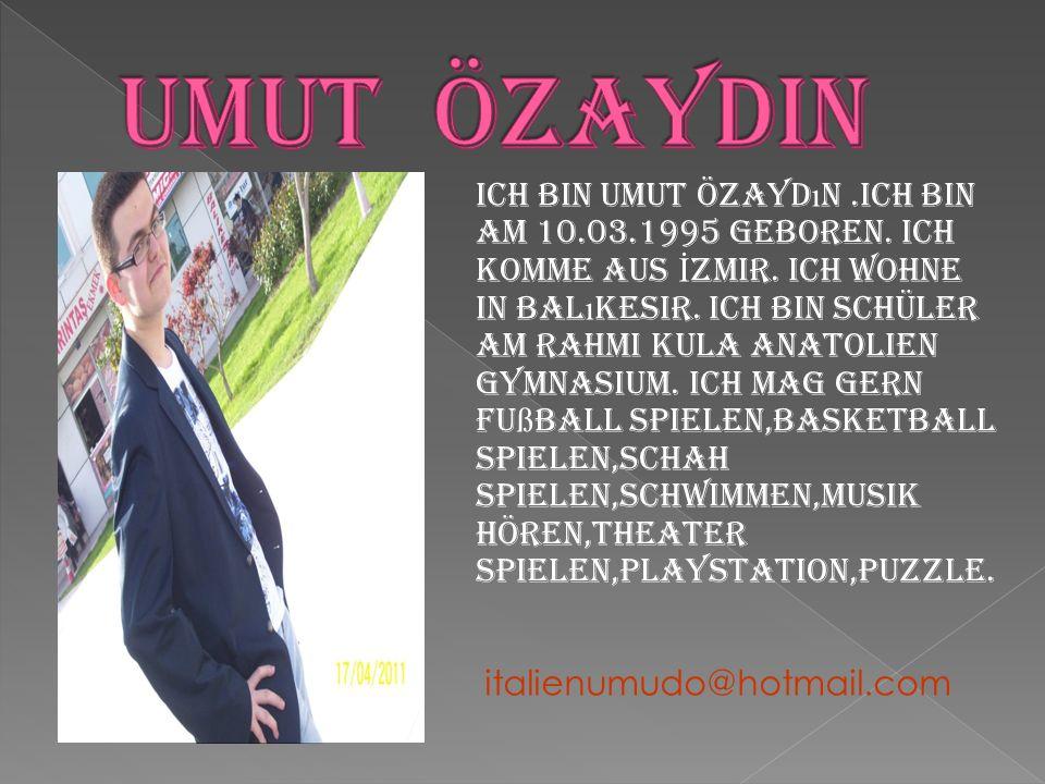 UMUT ÖZAYDIN