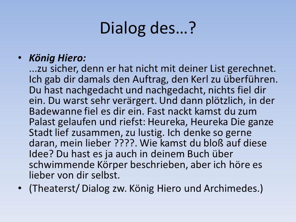 Dialog des…