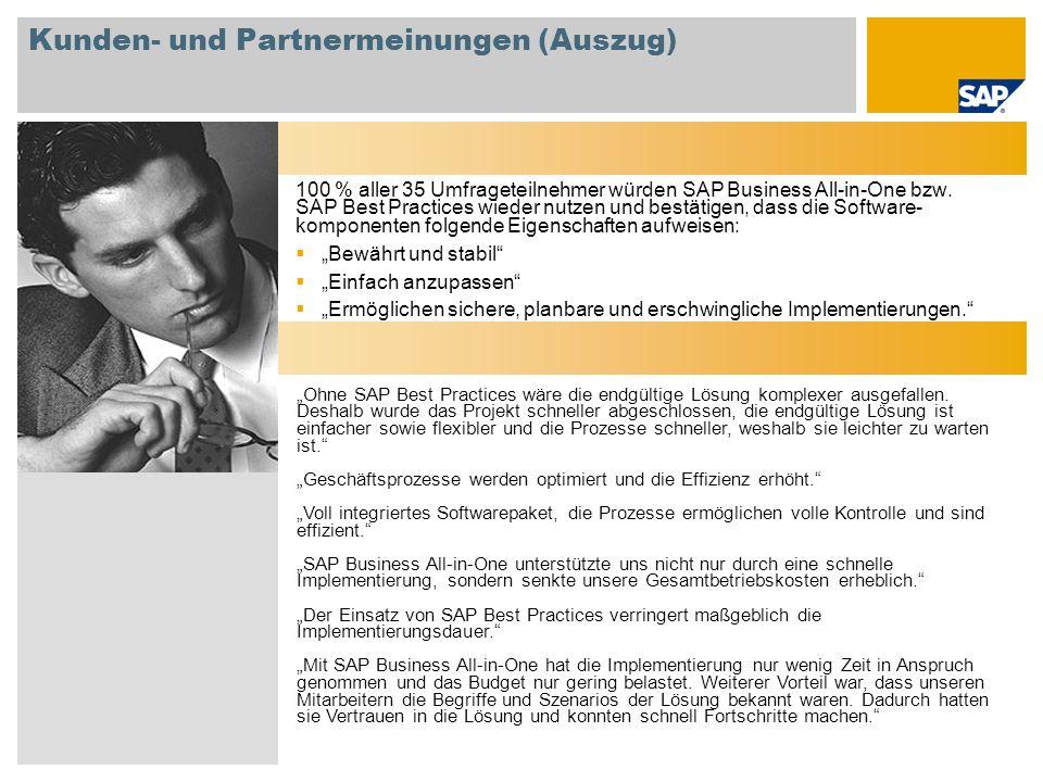 Kunden- und Partnermeinungen (Auszug)