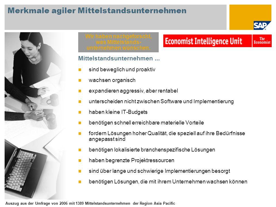 Merkmale agiler Mittelstandsunternehmen