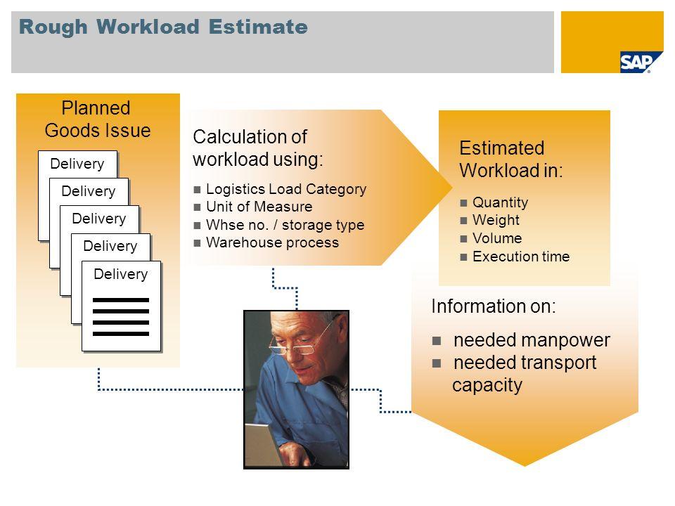 Rough Workload Estimate