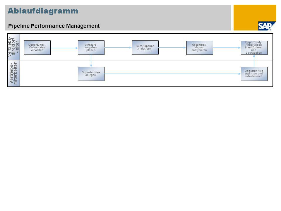 Ablaufdiagramm Pipeline Performance Management