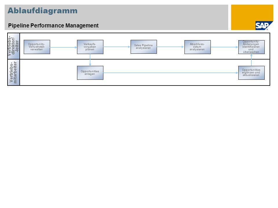 Ablaufdiagramm Pipeline Performance Management