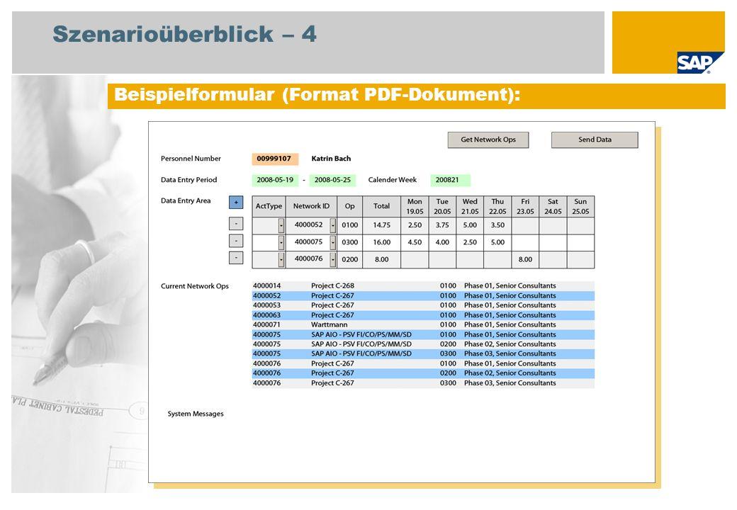 Szenarioüberblick – 4 Beispielformular (Format PDF-Dokument):