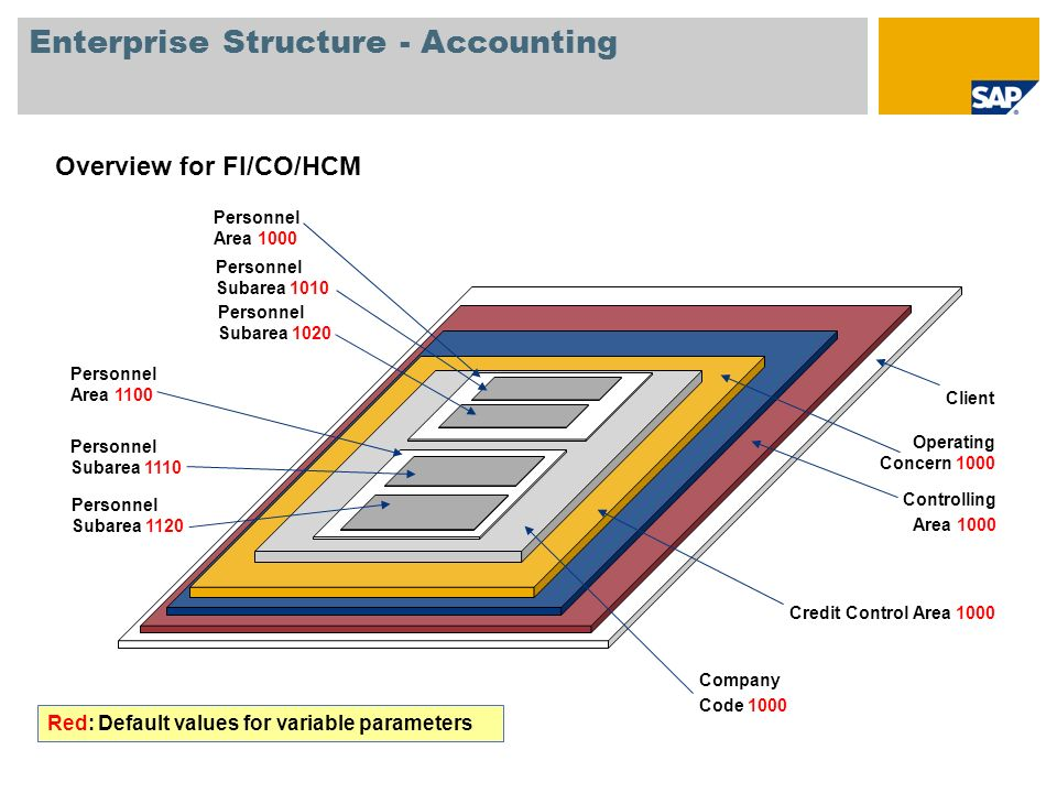 Enterprise Structure - Accounting