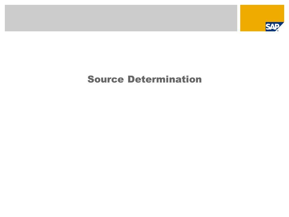 Source Determination