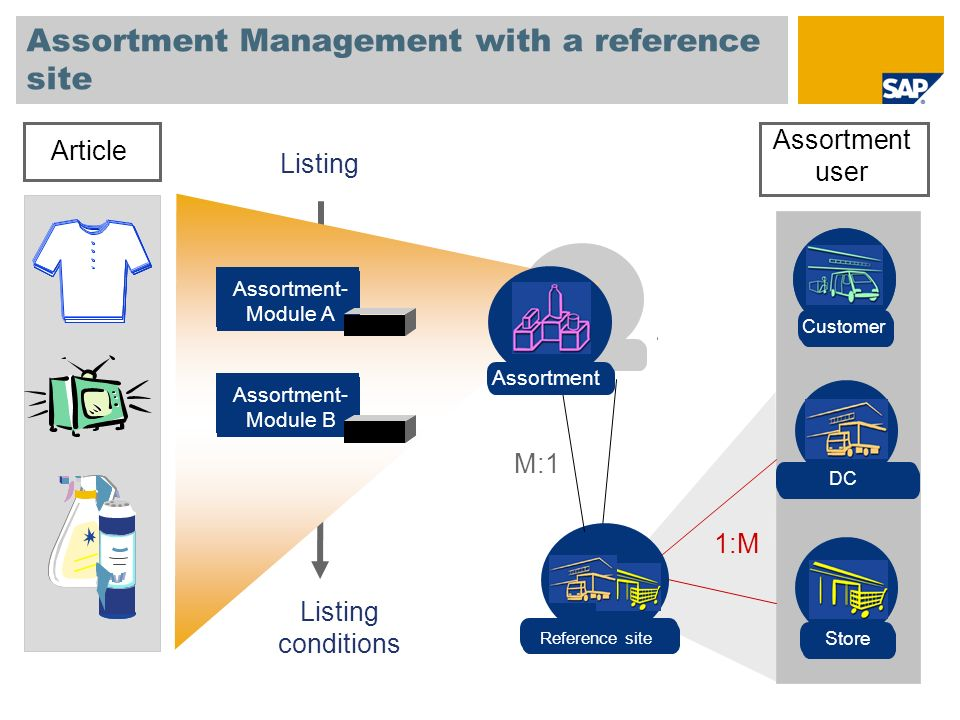 Assortment Management with a reference site