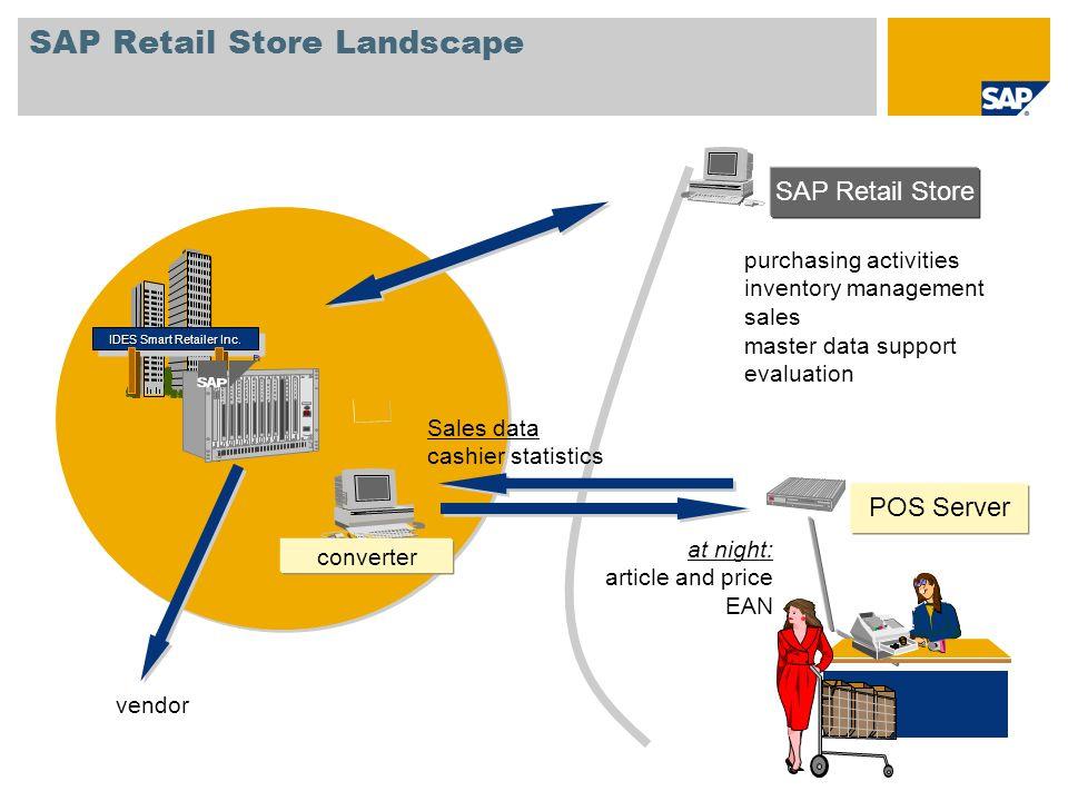 SAP Retail Store Landscape