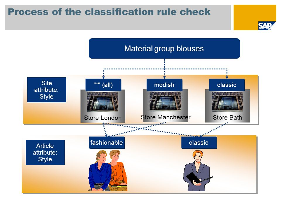 Process of the classification rule check