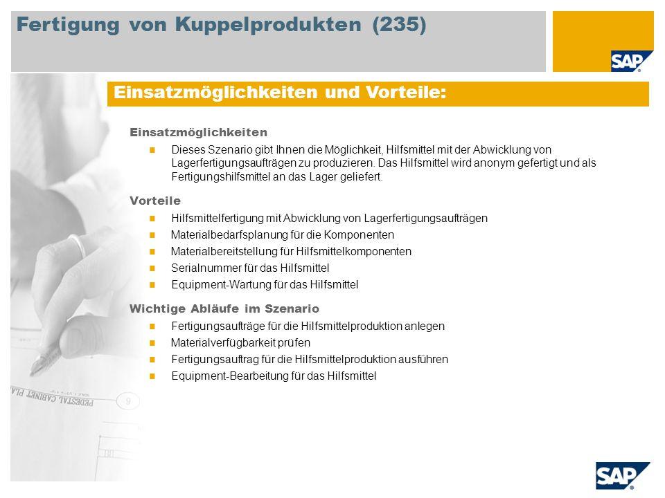 Fertigung von Kuppelprodukten (235)