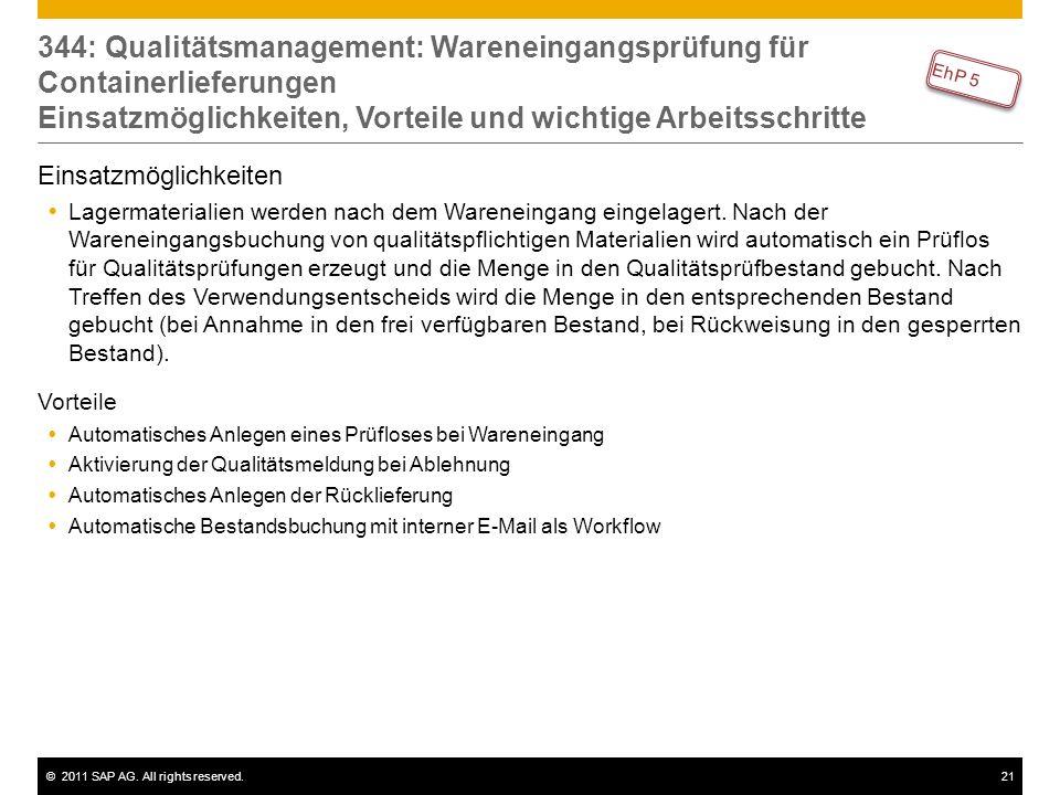 344: Qualitätsmanagement: Wareneingangsprüfung für Containerlieferungen Einsatzmöglichkeiten, Vorteile und wichtige Arbeitsschritte