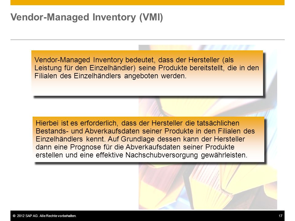 Vendor-Managed Inventory (VMI)