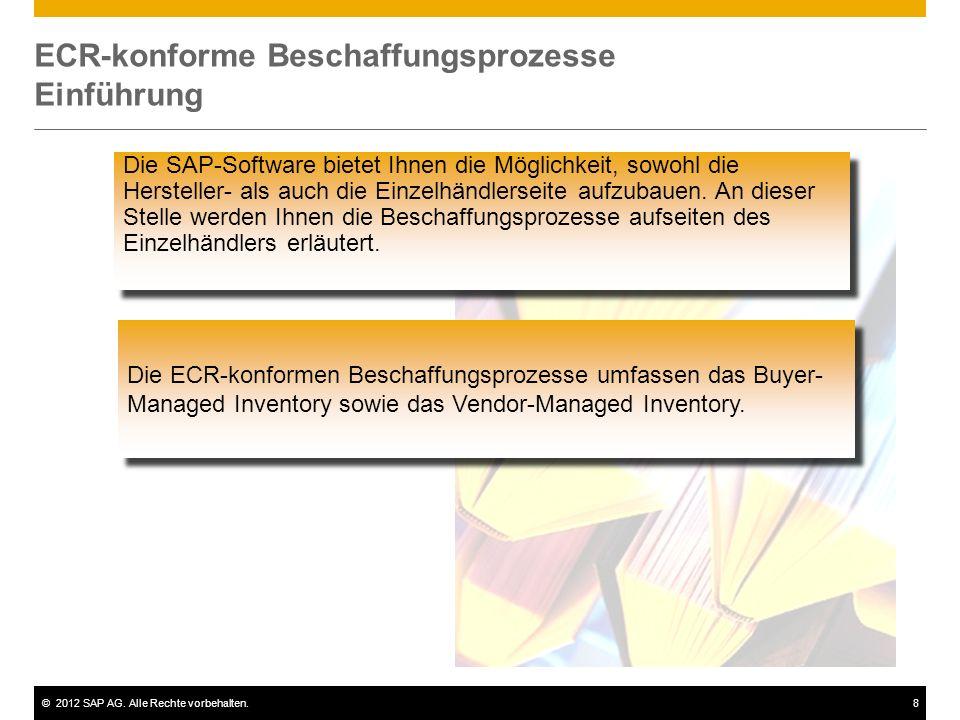 ECR-konforme Beschaffungsprozesse Einführung