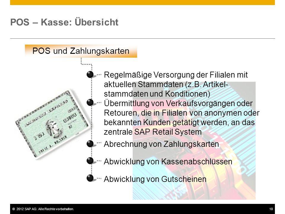 POS und Zahlungskarten