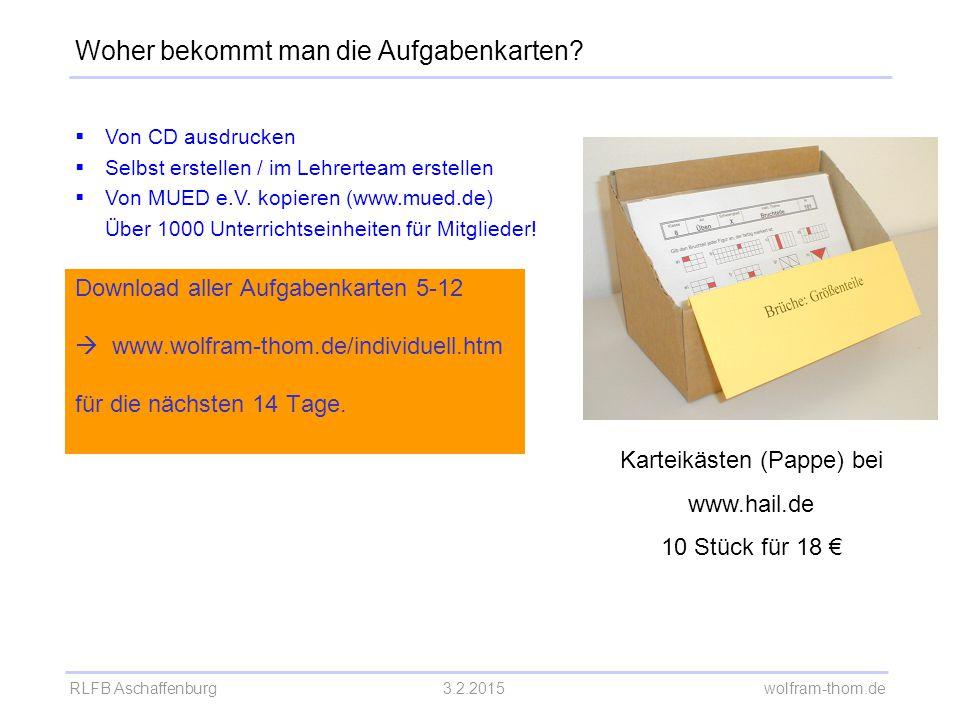 Karteikästen (Pappe) bei www.hail.de