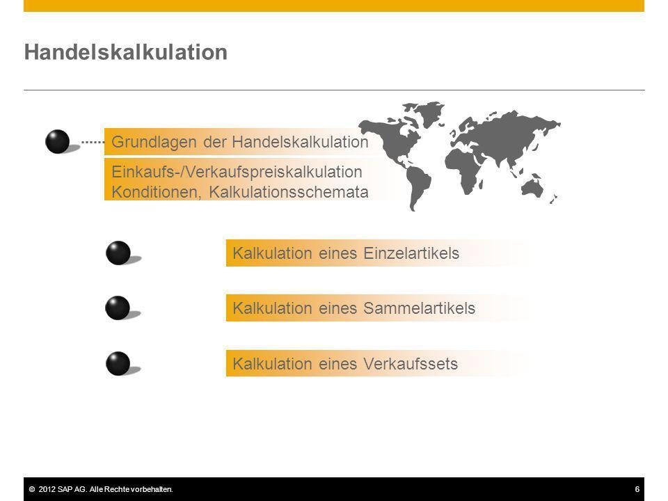 Handelskalkulation Grundlagen der Handelskalkulation