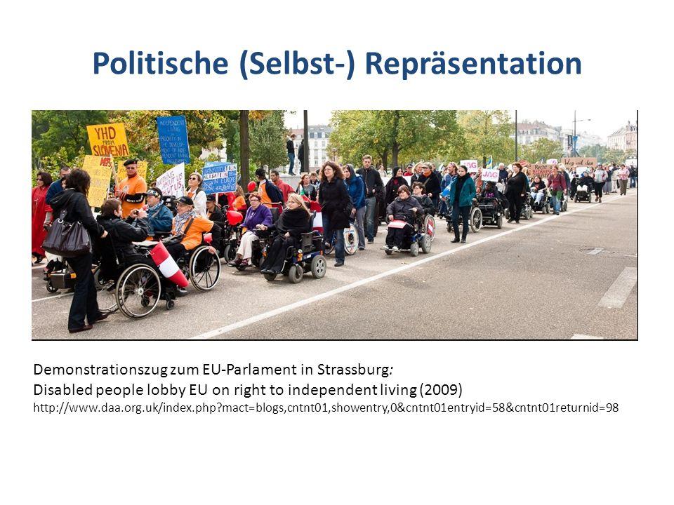 Politische (Selbst-) Repräsentation