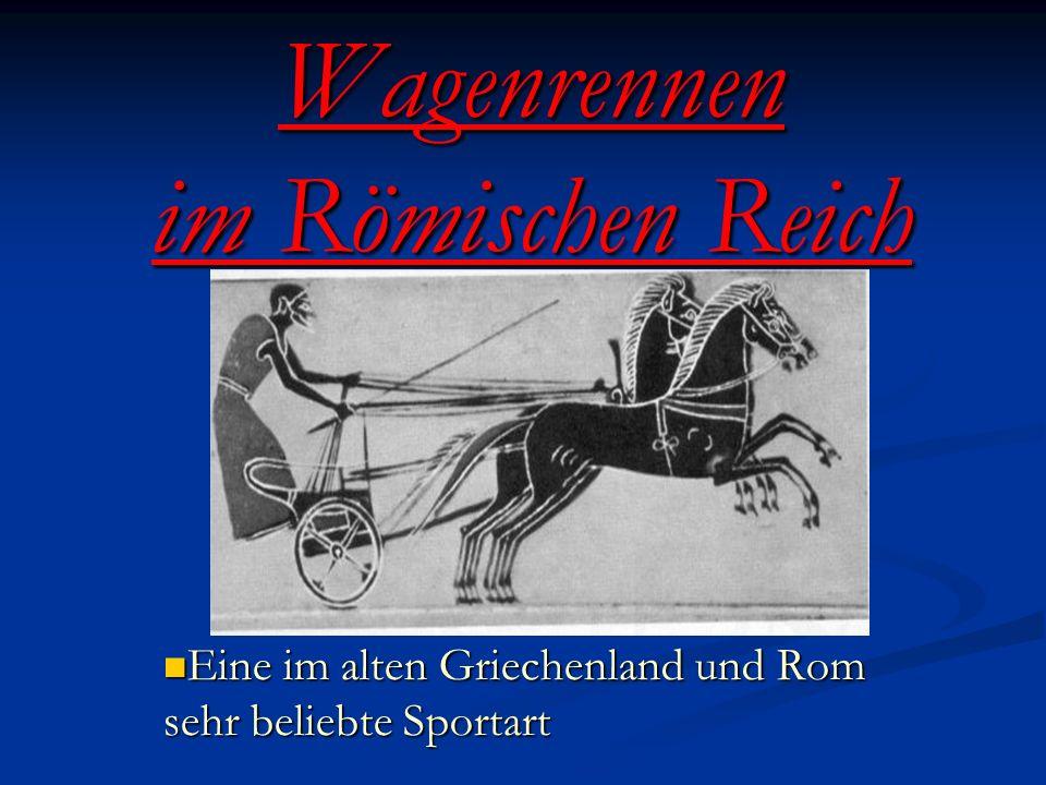Wagenrennen im Römischen Reich