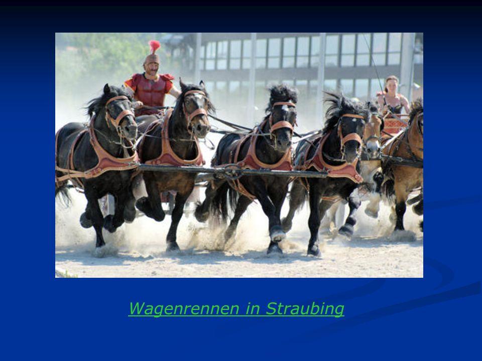 Wagenrennen in Straubing