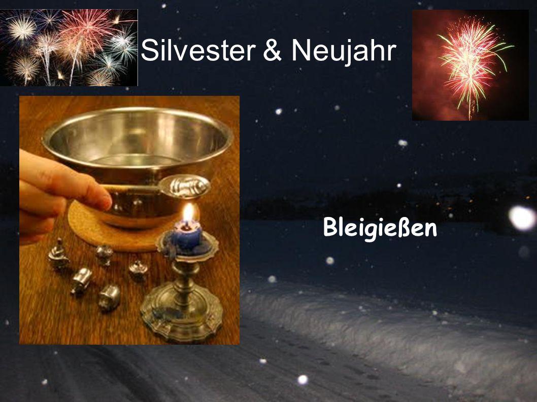 Silvester & Neujahr Bleigießen
