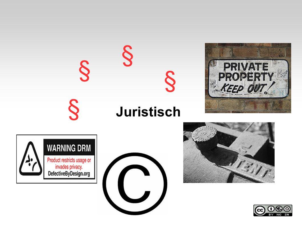 § § § § Juristisch