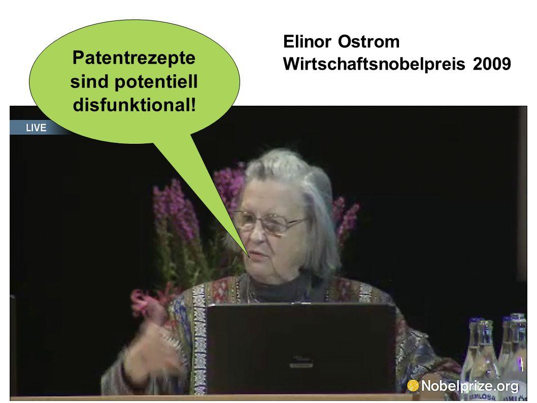 Patentrezepte sind potentiell disfunktional!