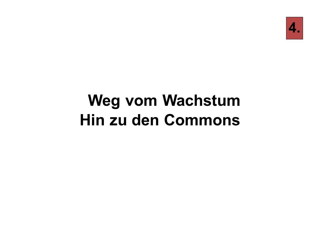 Weg vom Wachstum Hin zu den Commons