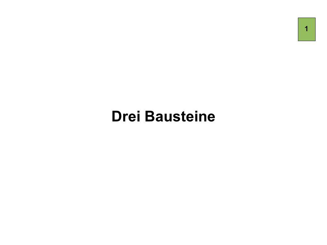 1 Drei Bausteine