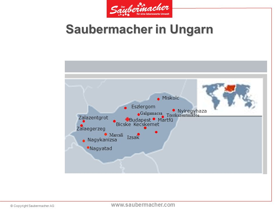 Saubermacher in Ungarn