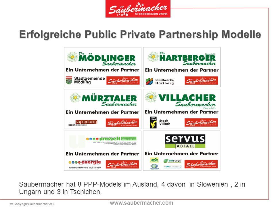 Erfolgreiche Public Private Partnership Modelle