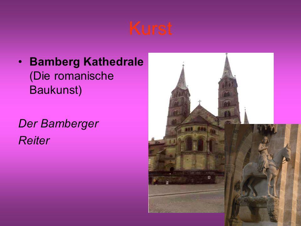 Kurst Bamberg Kathedrale (Die romanische Baukunst) Der Bamberger
