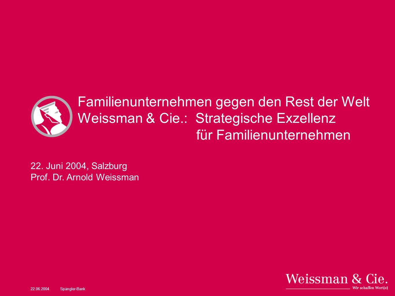 Familienunternehmen gegen den Rest der Welt