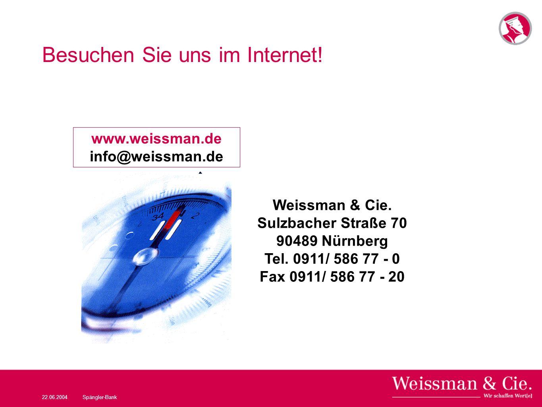 Besuchen Sie uns im Internet!