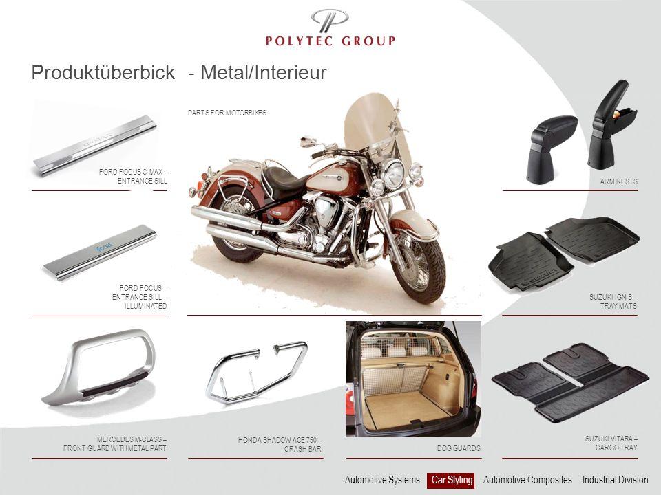 Produktüberbick - Metal/Interieur