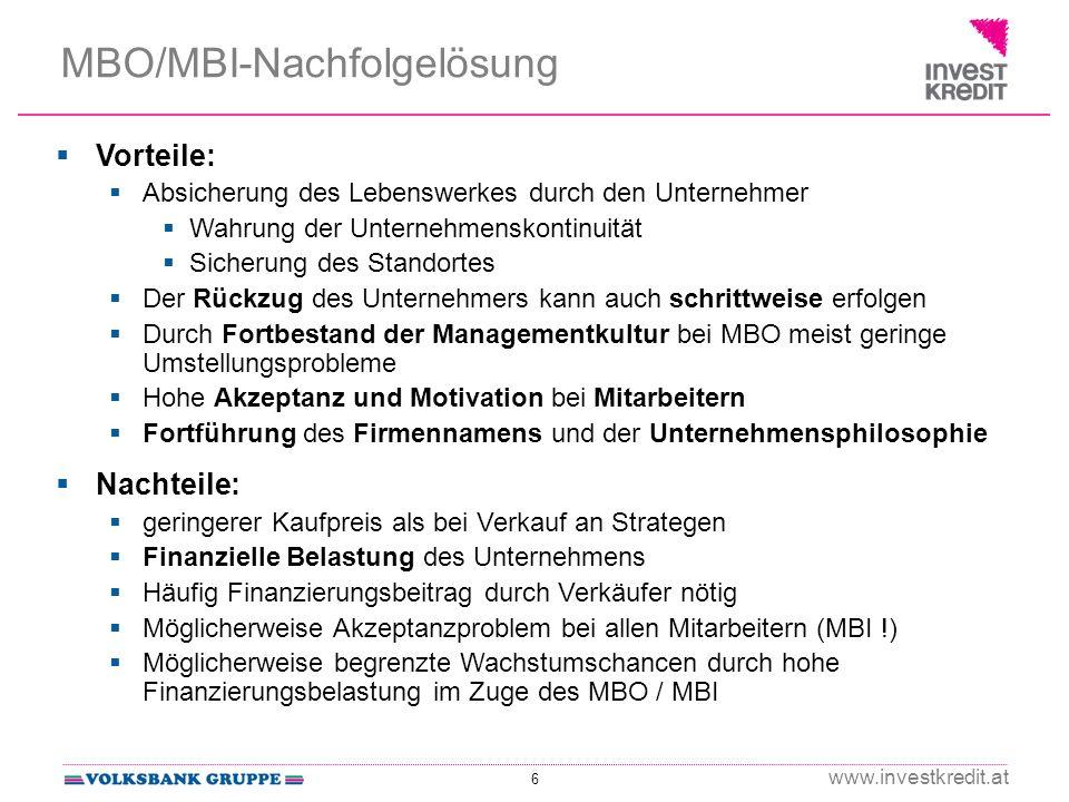 MBO/MBI-Nachfolgelösung