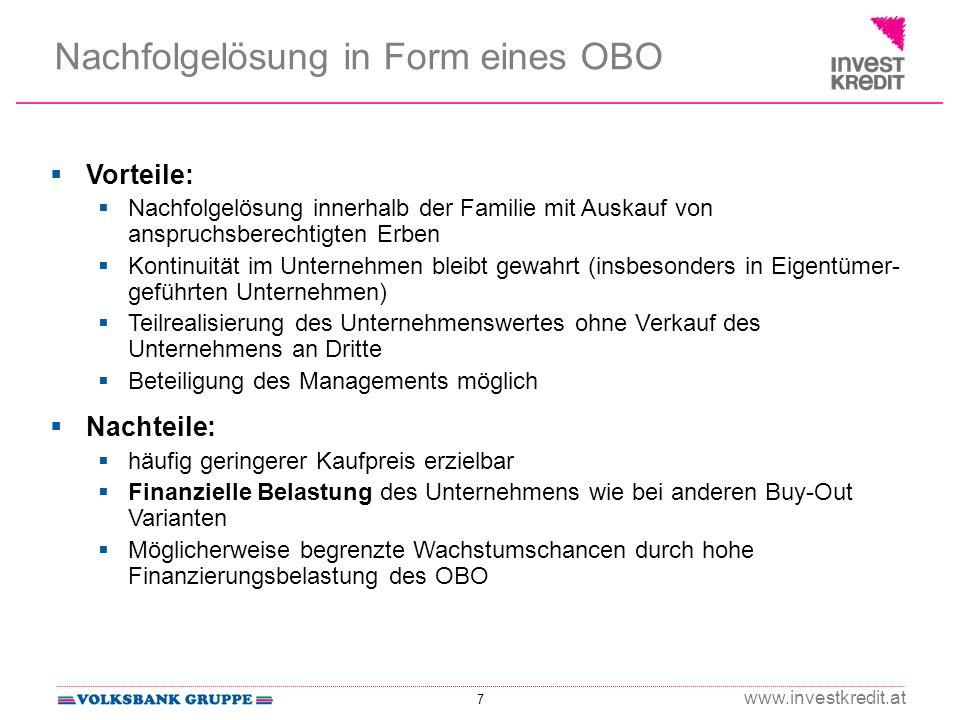 Nachfolgelösung in Form eines OBO